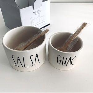 🆕Salsa And Guac Set By Rae Dunn